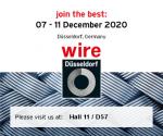 FIERA WIRE&TUBE 2020 DUSSELDORF