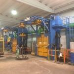 COGEIM EUROPE SRL ha recentemente completato l'installazione di due granigliatrici presso la FONDERIA AUGUSTA