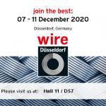 TUBE&WIRE FAIR 2020 DUSSELDORF